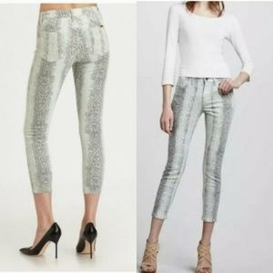 Joes Jeans The High Water Ankle Skinny Snakeskin